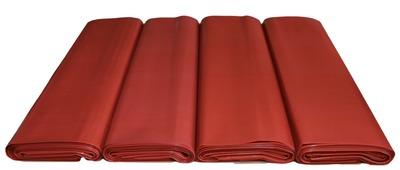 Worki na WĘGIEL GRUBY ORZECH 25kg regranulat czerwony  500x800mm 0,14