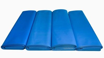 Worki na węgiel EKOGROSZEK 20kg regranulat niebieski 500x650mm