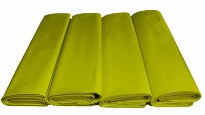 Worki na węgiel EKOGROSZEK 25kg regranulat żółty 500x800mm