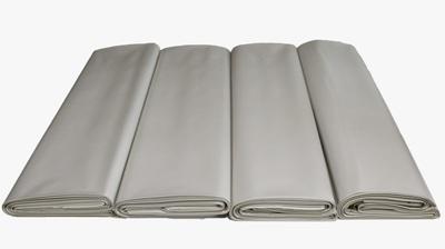 Worki na węgiel EKOGROSZEK 25kg regranulat biały 500x800mm
