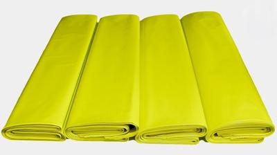 Worki na WĘGIEL 25kg regranulat żółty 500x800mm 7000szt.