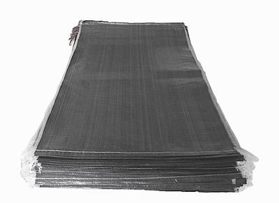 Worki materiałowe polipropylenowe z zaciągiem 25/30kg czarny