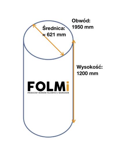 Worki do odciągu trocin      975x1200mmFi621 mm regranulatbezbarwny